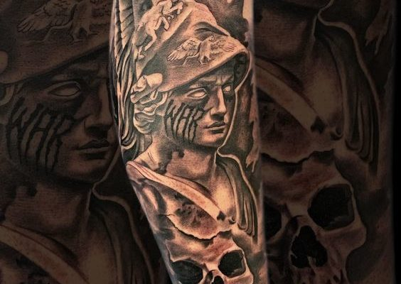 Ares tattoo