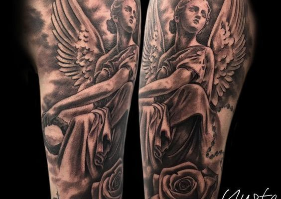 Tattoo ángel