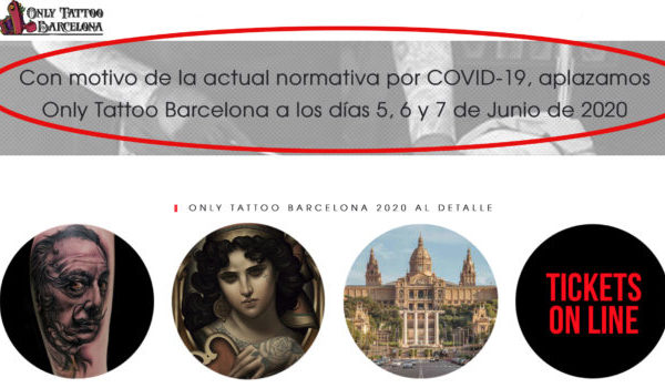 Only tattoo Barcelona 2020